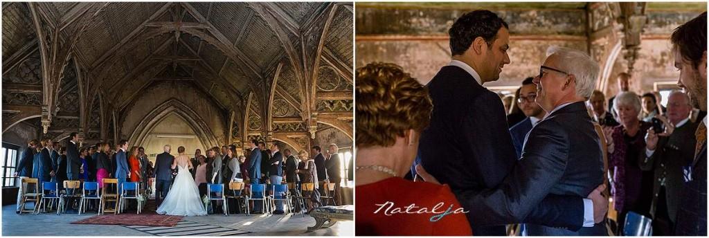 Bruidsfotografie metaal Kathedraal Utrecht