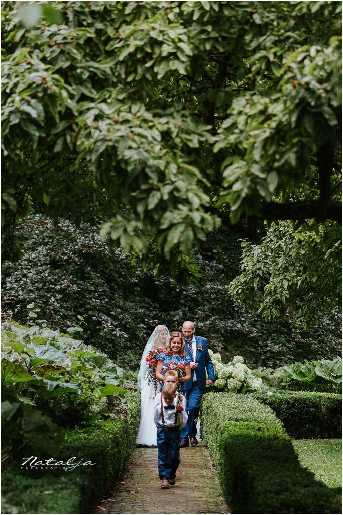 Trouwfotograaf kasteel Duurstede trouwreportage