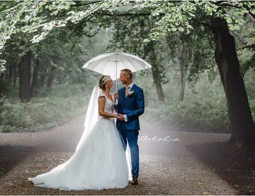 Trouwen in de regen in Rotterdam | Krista en Martijn