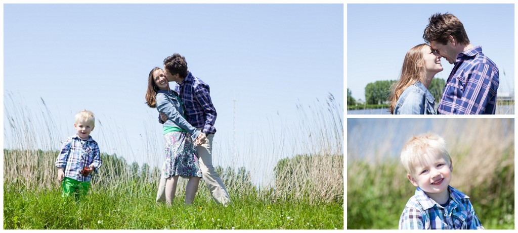 loveshoot met molens en kind