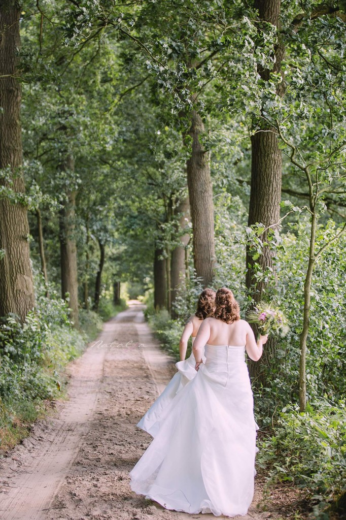 buiten trouwen bos