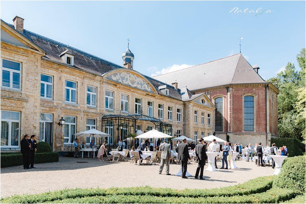 Trouwfotografie chateau St Gerlach - huwelijk (31)