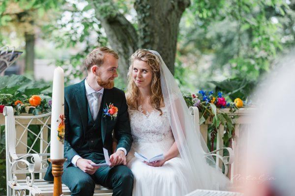Vanessa en Julian – ceremonie