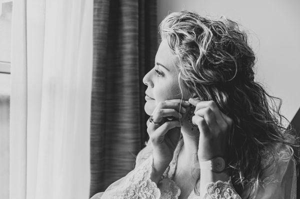 Vanessa en Julian – Voorbereiding bruid