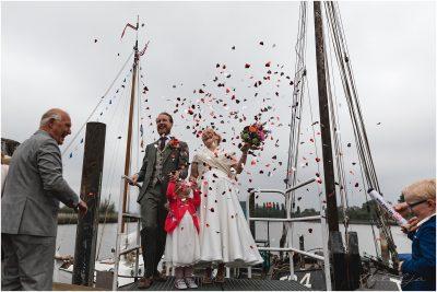 Stoer trouwen op eilande de Kaag Krimepen aan den IJssel