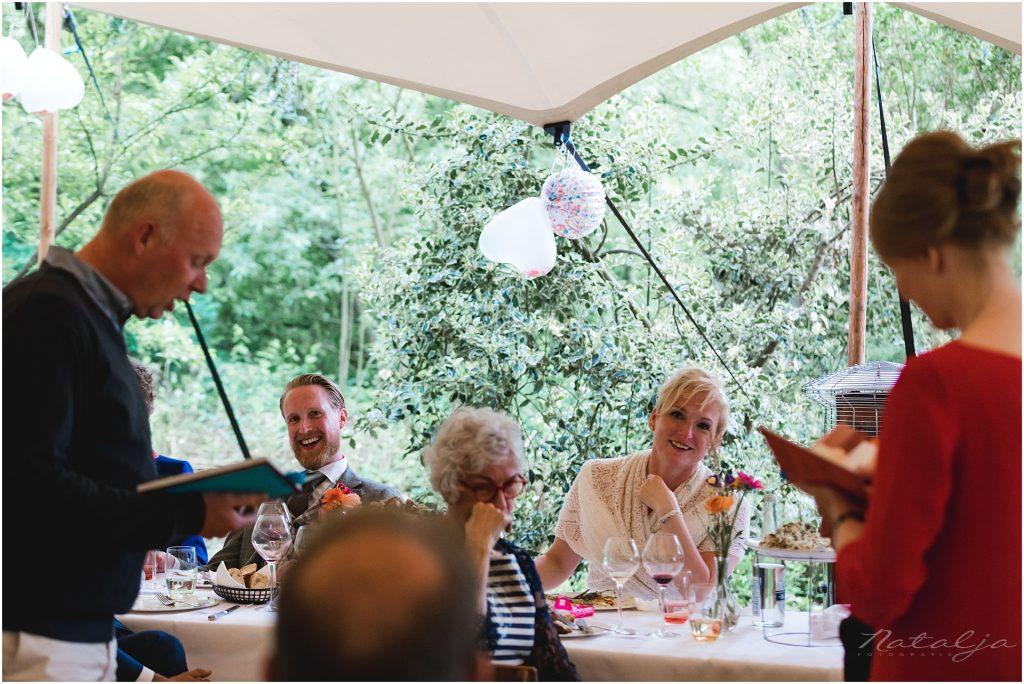 Stoer trouwen op eilande de Zaag Krimpen aan den IJssel