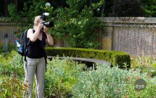 Bruidsfotograaf aan het werk - Natalja